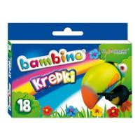 Kredki Bambino St.Majewski 18 kolorów w pudełku