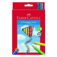 Kredki Faber-Castell junior grip trójkątne 30 kolorów