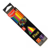 Kredki Maped Colorpeps fluo 6 kolorów
