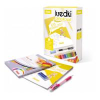 Kredki ołówkowe PENTEL 24 kolory + kolorowanka