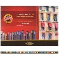 Kredki pastele suche KOH-I-NOOR Toison Dor 36 kolorów