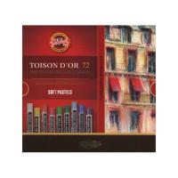Kredki pastele suche KOH-I-NOOR Toison Dor 72 kolory