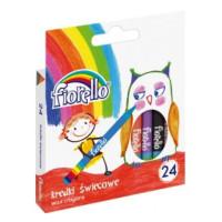Kredki świecowe Grand Fiorello 24 kolory