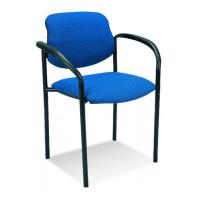 Krzesło NOWY STYL ARM Black niebieskie CU14