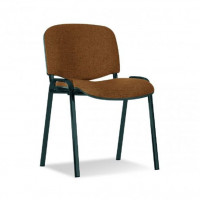 Krzesło NOWY STYL ISO Black brązowo-beżowe CU24