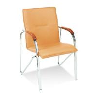 Krzesło NOWY STYL Samba czarne V4 + drewno 1.010