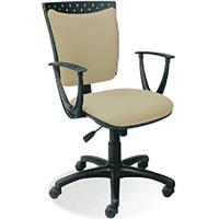 Krzesło NOWY STYL Stilo 10 GTP beżowe EF809