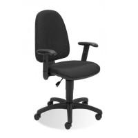Krzesło NOWY STYL Webstar R Kontakt czarne CU11