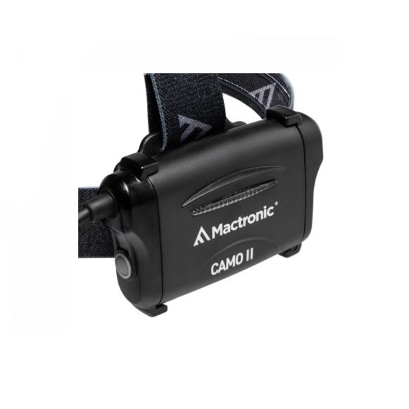 Latarka czołowa MACTRONIC AHL0115 Camo z funkcją fokus