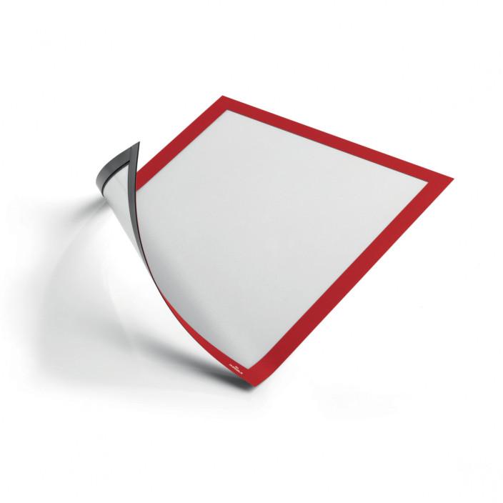 Magnetyczna ramka informacyjna DURABLE DURAFRAME MAGNETIC 5szt. czerwona