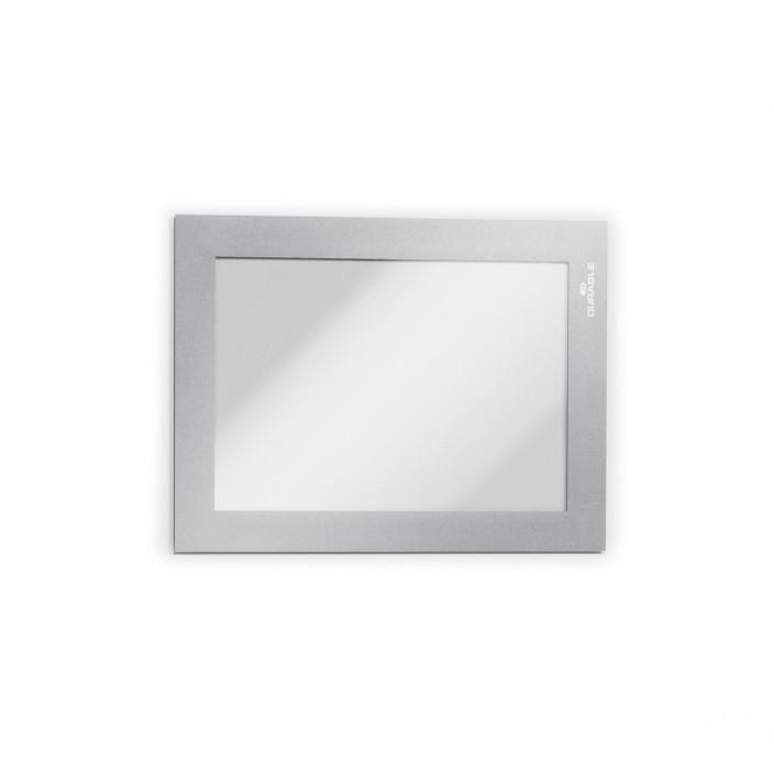 Magnetyczna ramka informacyjna DURABLE DURAFRAME MAGNETIC A6 5szt. srebrna
