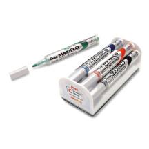Marker do Marker suchościeralny PENTEL Maxiflo MWL5M-4N 6mm 4szt. z gąbkąsuchościeralnych PENTEL Maxiflo MWL5M-4N okrągły komplet 4szt. z gabką