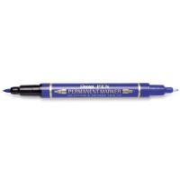 Marker dwustronny Pentel N75W Twin Tip niebieski