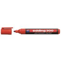 Marker permanentny EDDING 300 czerwony