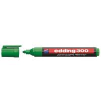 Marker permanentny EDDING 300 zielony