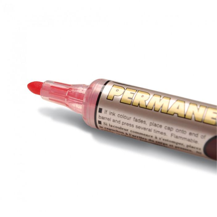 Marker permanentny PENTEL MAXIFLO NLF50 czerwony