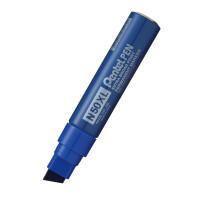 Marker permanentny PENTEL N50XL ścięty niebieski