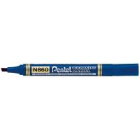 Marker permanentny PENTEL N860 ścięty niebieski