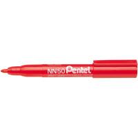 Marker permanentny PENTEL NN50 ekologiczny czerwony