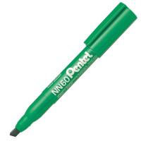 Marker permanentny PENTEL NN60 ścięty ekologiczny zielony