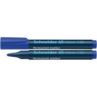 Marker permanentny SCHNEIDER Maxx 130 1-3 mm okrągły niebieski