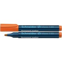 Marker permanentny SCHNEIDER Maxx 130 1-3 mm okrągły pomarańczowy