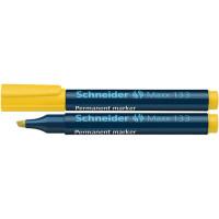 Marker permanentny SCHNEIDER Maxx 133 1-4 mm ścięty żółty