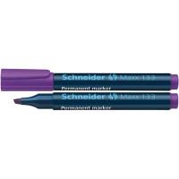 Marker permanentny SCHNEIDER Maxx 133 1-4 mm ścięty fioletowy