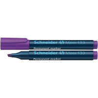 Marker permanentny SCHNEIDER MAXX 133 1-4mm ścięty fioletowy