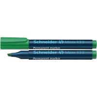 Marker permanentny SCHNEIDER MAXX 133 1-4mm ścięty zielony