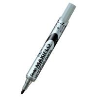Marker suchościeralny PENTEL MAXIFLO 4mm z tłoczkiem czarny