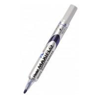 Marker suchościeralny PENTEL MAXIFLO 4mm z tłoczkiem niebieski