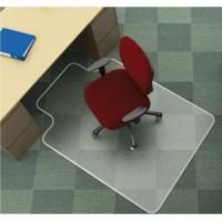 "Mata pod krzesło Q-CONNECT na dywany kształt ""T"" 134,6x114,3cm"
