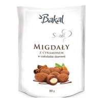 Migdały w czekoloadzie z cynamonem BAKAL Sweet 80g