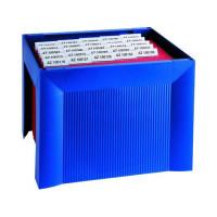 Miniarchiwum na teczki zawieszkowe HAN Karat niebieskie