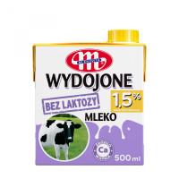 Mleko MLEKOVITA bez laktozy 1,5% 0,5L