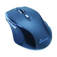 Mysz bezprzewodowa MEDIARANGE MROS203 czarno-szara