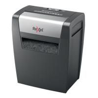 Niszczarka REXEL MOMENTUM X406, konfetti, p-4, 6 kart., 15l, czarna