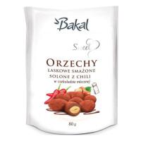 Orzechy laskowe w czekoladzie z chili BAKAL Sweet, 80g