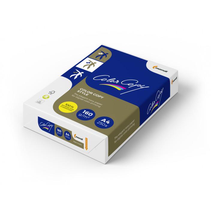 Papier COLOR COPY STYLE A4 160g do drukarki i ksero - ryza 250 ark.