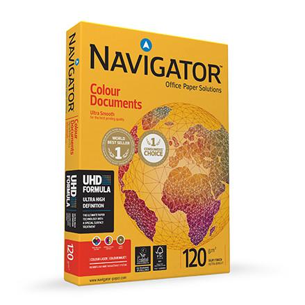 Papier NAVIGATOR Colour Documents A3 120g do drukarki i ksero - ryza 500 ark.