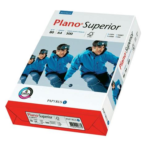 Papier PLANO Superior A4 80g do drukarki i ksero - ryza 500 ark.