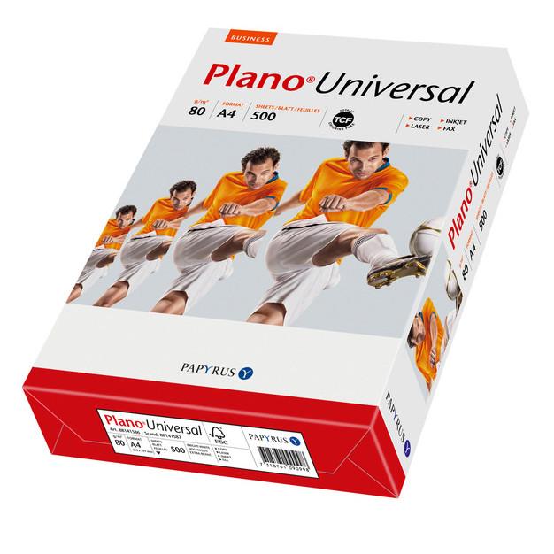 Papier PLANO UNIVERSAL A4 80g do drukarki i ksero - ryza 500 ark.