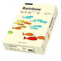 Papier RAINBOW A4 160g nr 03 kremowy do drukarki i ksero - ryza 250 ark.