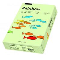 Papier RAINBOW A4 160g nr 72 blado zielony do drukarki i ksero - ryza 250 ark.