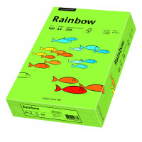 Papier RAINBOW A4 160g nr 76 zielony do drukarki i ksero - ryza 250 ark.