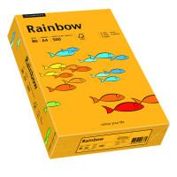Papier RAINBOW A4 80g nr 22 jasno-pomarańczowy do drukarki i ksero - ryza 500 ark.