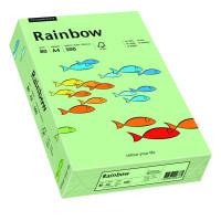 Papier RAINBOW A4 80g nr 75 przygaszona zieleń do drukarki i ksero - ryza 500 ark.