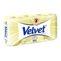 Papier toaletowy VELVET żółty 8szt.