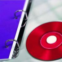 Piankowe kółka na płyty CD/DVD APLI AP11671 35szt.